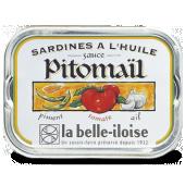 Sardines à la sauce Pitomail 115 g x5