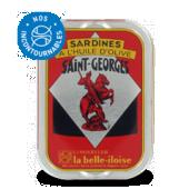 Sardines à l huile d'olives St George la Belle Iloise 115g