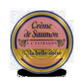 Crème de saumon  à l' estragon la belle iloise x 3 boites