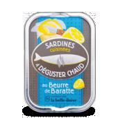 Sardines à poêler au beurre de baratte 115 g x3 boites