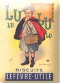Magnet email Lu Petit ecolier 8x6 cm