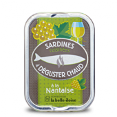 Sardines à poëler a la Nantaise x 3 boites 115 g