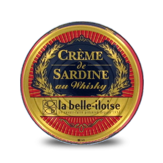 Crème de Sardines au Whisky x5