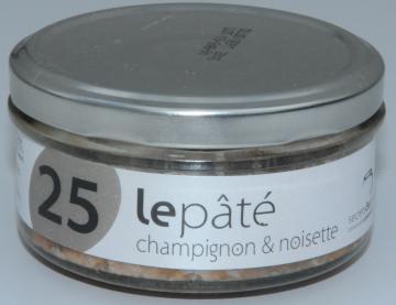 Pâté Breton champignons noisette