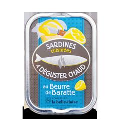 Sardines à poêler au beurre x3